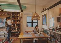 自然素材のデザイン住宅のイメージ