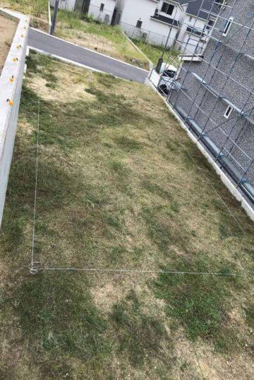 草刈り・地縄張り