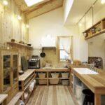 I型キッチン