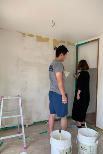 内装塗り工事