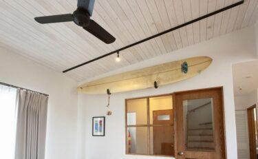 カリフォルニア風のサーファーズハウス:デザインのポイントvol.2(内装編)