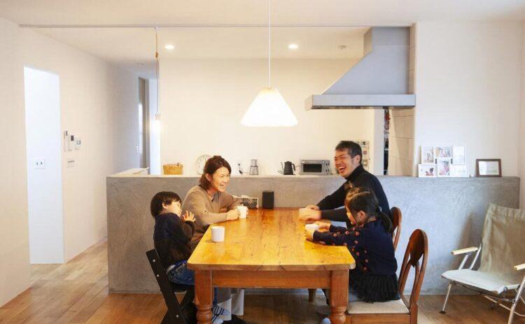 シンプルな中にも感情と感覚を強くゆすぶられる家