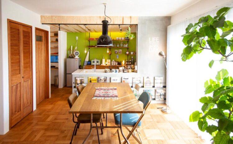 カッコいい、ブルックリンスタイルの奈良市芝辻町モデルハウス