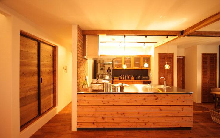 アンティークの雰囲気が似合うカフェのようなおうち