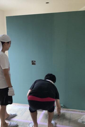 内部壁塗装